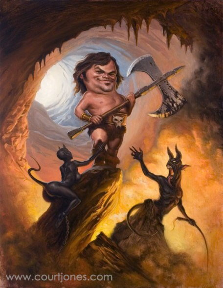 Court-Jones-Jack-Black-oil-on-canvas